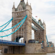 Tower Bridge on River Thames London UK — Stock Photo