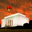 Stock Photo: Lincoln memorial in Washington DC