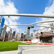 Millennium Park in downtown Chicago — Stock Photo