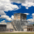 The stadium near chichen itza temple — Stock Photo
