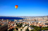 Aerial view of Marseille City — Stock Photo