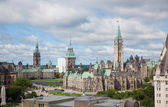 Parliament Buildings in Ottawa, Canada — Stock Photo