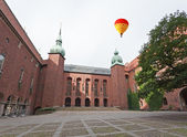 The famous City hall of Stockholm — Stok fotoğraf