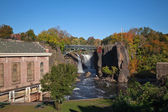 The Great Falls in Paterson, NJ — Stock Photo