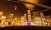 Millennium park w centrum chicago — Zdjęcie stockowe