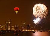 July 4th firework — Stock Photo