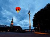 Berlin tv tower - fernsehturm — Foto de Stock