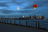 Th New York City Skyline — Stock Photo