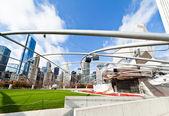 Миллениум-парк в центре Чикаго — Стоковое фото