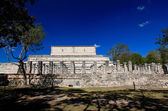 The temples of chichen itza temple — Stock Photo