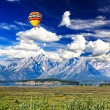 The landscape of Grand Teton National Park  — Stock Photo