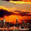 New York City midtown skyline — Stock Photo #29376625