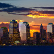 Stock Photo: Lower ManhattSkylines