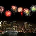 die Skyline von New york — Stockfoto