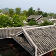 A scenery Chinese minority village best known in the movie Furongzhen — Stock Photo