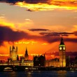 The Parliament Building - Big Ben — Foto de Stock