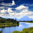 The Grand Teton National Park — Stock Photo