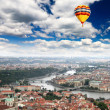 Aerial view of Prague Castle — Stock Photo