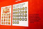майя алфавиты — Стоковое фото