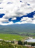 Scenery landscape near Lijiang City — Stock Photo