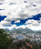 Le paysage de la ville de guilin — Photo