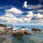 The Acadia National Park Maine Coast USA — Stock Photo