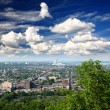 The aerial view of Montreal City — Stock Photo #29380687