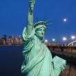 The Statue of Liberty and New York City — Stock Photo #29380843