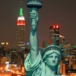 The Statue of Liberty and New York City — Stock Photo #29380981