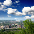 The aerial view of Montreal City — Stock Photo