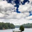The scenary of thousand Islands — Stockfoto