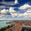 Aerial view of Venice city — Stock Photo