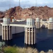 The Hoover Dam in Arizona — Stock Photo