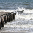 Stock Photo: Sea waves at Atlantic City