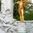 Stock Photo: The Statue of Johann Strauss in Stadtpark in Vienna