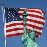 La estatua de la libertad — Foto de Stock