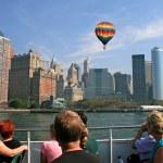 The New York City skyline — Stock Photo