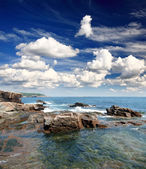 Il parco nazionale di acadia maine costa usa — Foto Stock