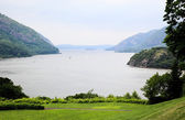 The scenery of Hudson river — Stock Photo