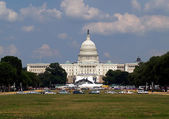 The capitol hill building in Washington DC — Stock Photo