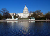 The Capitol building in Washington D.C — Stock Photo
