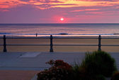Sunrise at Virginia Beach — Stock Photo