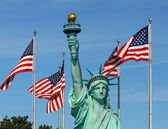 The Statue of Liberty — ストック写真