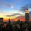 New York City midtown skyline — Foto de Stock