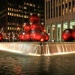 The Christmas decorations in Midtown Manhattan — Stock Photo