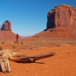 The Monument Valley in Arizona — Stock fotografie