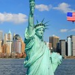 The Statue of Liberty and New York City — Stock Photo #29396491