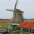 The windmill museum in the Amsterdam — Stock Photo