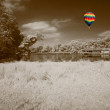 The infrared dreamy scenery  — Stock Photo
