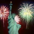 The July 4th fireworks — Stock Photo #29398413